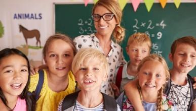 Kinderen weer naar school met goede voeding