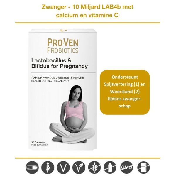 probiotica capsules tijdens zwangerschap