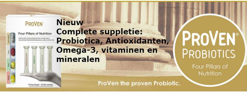 probiotica omega-3 vitaminen antioxidanten