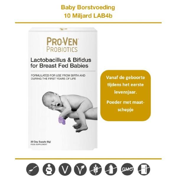 probiotica baby borstvoeding