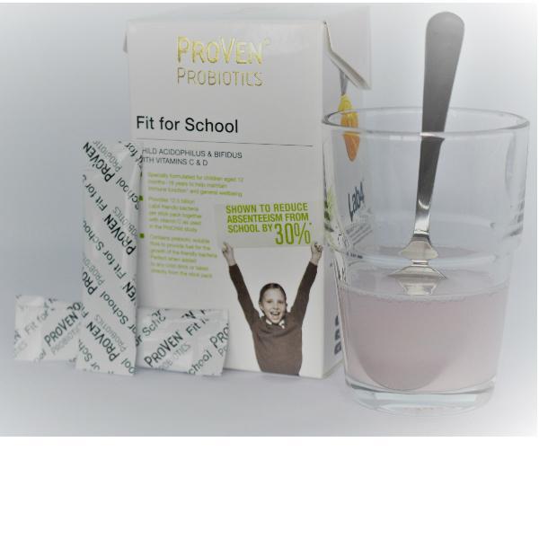 fit for school probiotica poeder 1 - 16 jaar