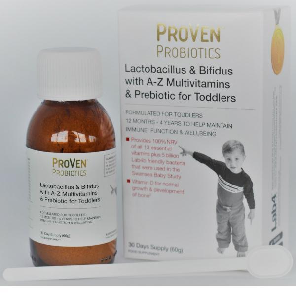 probiotica met vezels en vitaminen voor peuters