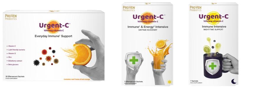 weerstand griep verkoudheid urgent-c